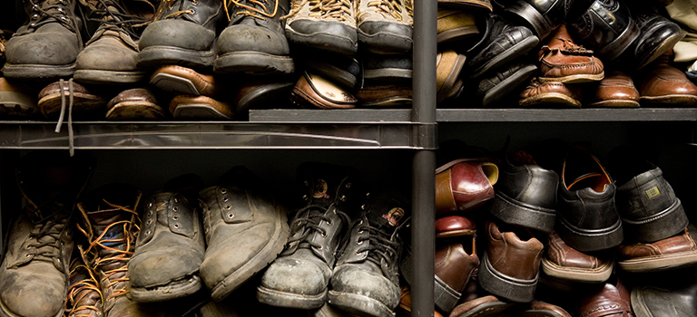 In the Business of Used Boots