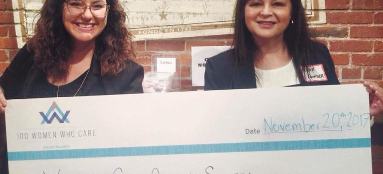 100 Women Who Care Vancouver, BC selected Working Gear as the Winning Charity