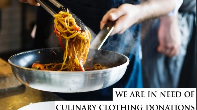 Working Gear Needs Culinary Donations